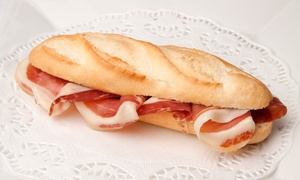 Maison Baguettes: Meal for Two or Five Egg Sandwiches with Coffee at Maison Baguettes (Up to 41% Off)