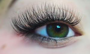 Sky Nails & Spa: Half Set of Eyelash Extensions at Sky Nails & Spa (45% Off)