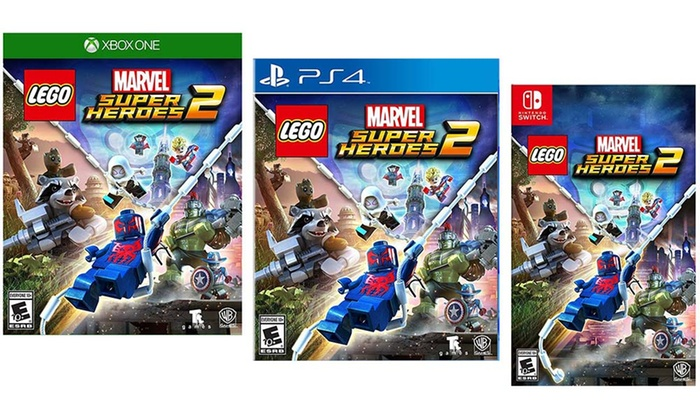 LEGO Marvel Super Heroes 2 for PS4, Switch, or Xbox One | Groupon