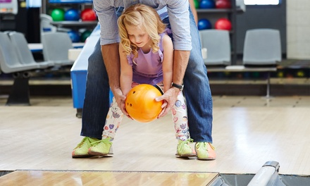 Two Hours of Bowling with Shoe Rental for Two or Four at Fort Hill Bowling Center (Up to 64% Off)