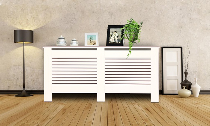 Radiator Cover in Choice of Size and Colour