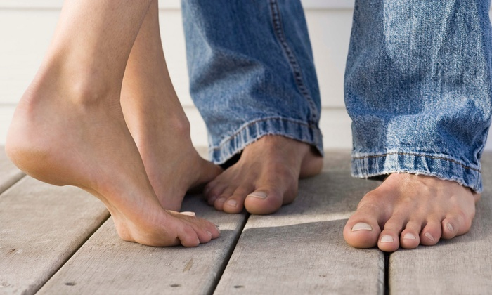 Bolingbrook Foot & Ankle Center - Dr. Ronald Pieroni: Consult and Two Laser Nail-Fungus Treatments for One or Both Feet at Bolingbrook Foot & Ankle Center (56% Off)