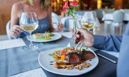 TwoCourse Meal with Wine or Beer for Two or Four at AM:PM Bohemian Restaurant