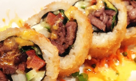 Sushi and Mexican-Fusion Cuisine at Senor Sushi (Up to 40% Off). Two Options Available.