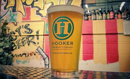 $18 for Tour, Tasting, and Pint Glasses for Four at Thomas Hooker Brewery ($36 Value)
