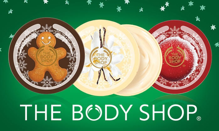 The Body Shop - The Gardens: $10 for $20 Worth of Natural Skincare, Makeup, Hair, and Body Products at The Body Shop