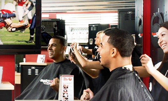 Sports Clips - Lakeview: $18 for Two Men's Varsity Haircuts at Sports Clips ($36 Value)