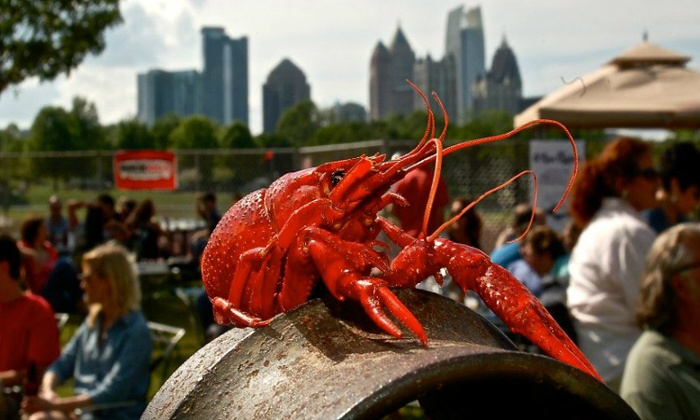 12th Annual Oyster Crawfish Festival - Park Tavern: VIP 12th Annual Oyster Crawfish Festival with Cowboy Mouth and Mudcat on Saturday, March 28 (Up to 52% Off)