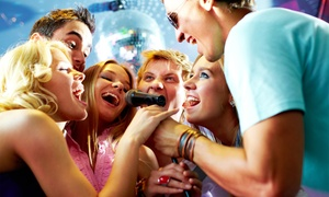 Stage Karaoke Lounge: 2 Hours of Karaoke for Up to 4, 6, or 10 People at Stage Karaoke Lounge (Up to 56% Off). Six Options Available.