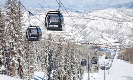 Stay at Snowmass Mountain Chalet in Snowmass Village, CO. Dates into March.