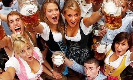 Live Bands, Beer, Mug, and Pretzel at Soulard Oktoberfest, October 10, 11, or 12 (Up to 56% Off)