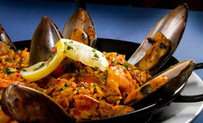 image for Latin Fusion Food at Las Brisas (Up to 40% Off). Two Options Available.