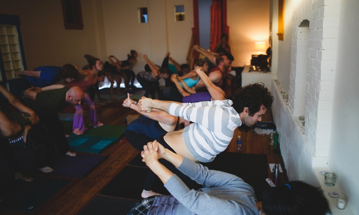 Swan River Yoga - Gravois Park: 10 or 20 Yoga Classes at Swan River Yoga (Up to 73% Off)