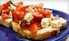La Pizzeria - Leinkauf: Two-Course Italian Dinner for Two or Four at La Pizzeria (Up to 54% Off)