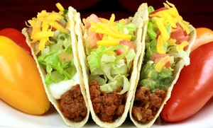 Mr. Taco's Restaurant: $12 for $18 Worth of Mexican Food at Mr. Taco's Restaurant