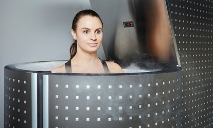 image for One or Three Whole-Body Cryotherapy Sessions at KryoVitality (Up to 61% Off)