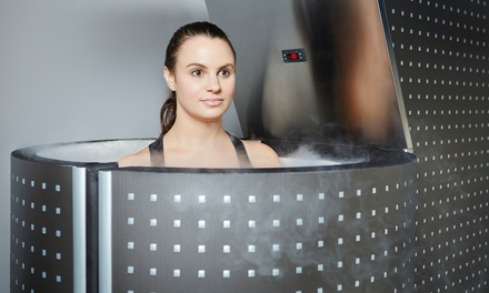 One, Three, or Five Whole-Body Cryotherapy Sessions at KryoVitality (Up to 63% Off)