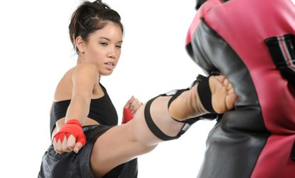 image for 10 or 20 Women's <strong>Kickboxing</strong> Classes at Oahu Taekwondo Center (67% Off)