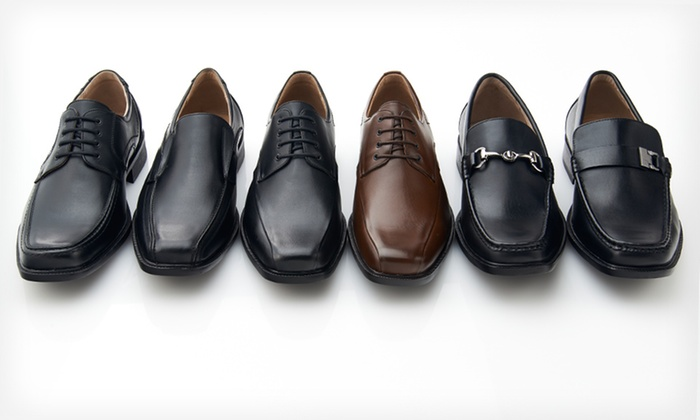 Adolfo Men's Jerry Dress Shoes: $39.99 for One Pair of Adolfo Men's Jerry Dress Shoes ($135 List Price). 6 Styles Available. Free Shipping and Returns.