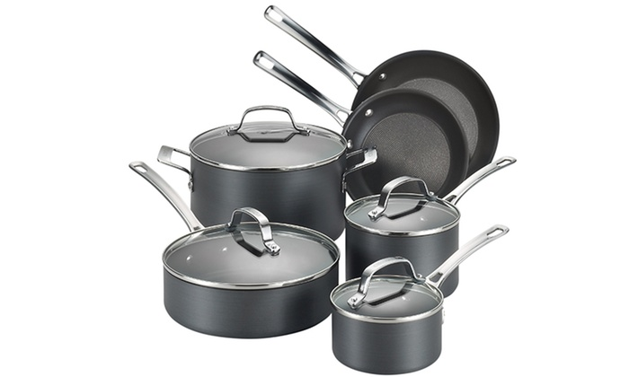 Circulon Genesis Nonstick Cookware Set (10-Piece)