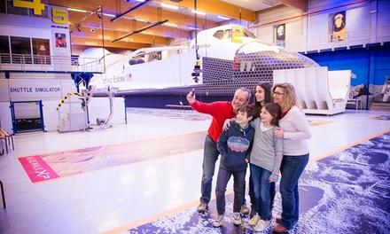 1, 2, 4 ou 6 entrées pour la visite de l'Euro Space Center dès 8 €