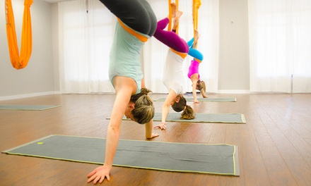 10 or 20 Yoga Classes at PB Athletic Wear & Yoga (Up to 73% Off)
