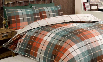 Reversible Check Duvet Sets from £12.98