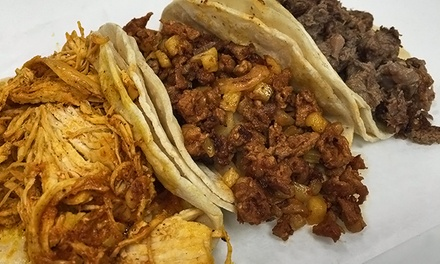 Mexican Food for One or Two at Taco Bar (40% Off)