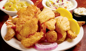 Catfish City & BBQ Grill: Southern-Style Seafood and Barbecue at Catfish City & BBQ Grill (50% Off). Two Options Available.