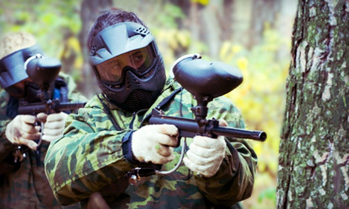 Fox Brothers Paintball Park - Virginia Beach: $20 for All-Day Paintball, Equipment, and 300 Rounds at Fox Brother's Paintball Park ($44 Value)
