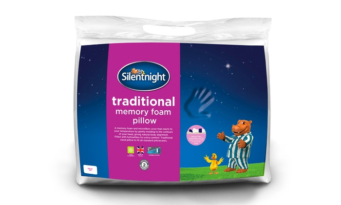 Silentnight Memory Foam Pillow Groupon Goods