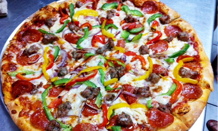 GuGu's Pizza & Pasta - Santa Clara: Pizza and Italian Food for Two or Four at GuGu's Pizza & Pasta (Half Off)