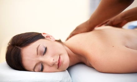 $55 for a 30-Minute Massage and Essential Mani-Pedi at Harmony Massage & Spa ($90 Value)