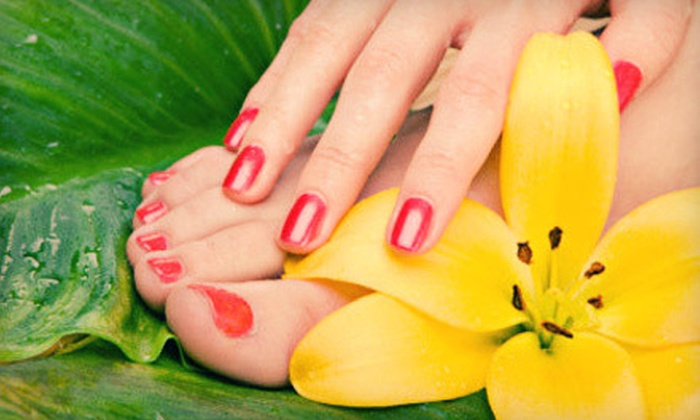 Suite 20 Day Spa - Chapel Hills: One, Two, or Three Gel Manicures with Spa Pedicures at Suite 20 Day Spa in Decatur (Up to 65% Off)