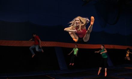 Jump Passes or Jump Party at Sky Zone (Up to 40% Off). Eight Options Available.