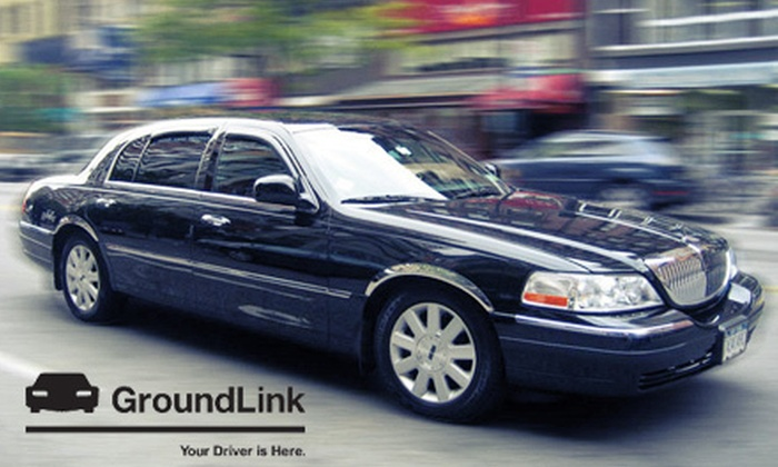 GroundLink - Los Angeles: Airport Transfer to or from LAX or $35 for $70 Worth of Mobile-App Credit for Rides from GroundLink