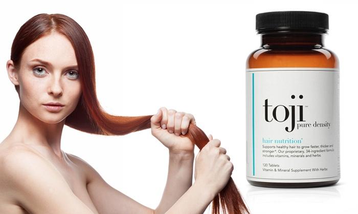 Toji Pure Density Vegetarian Hair-Growth Supplement: Toji Pure Density Vegetarian Hair-Growth Supplement. Free Shipping.