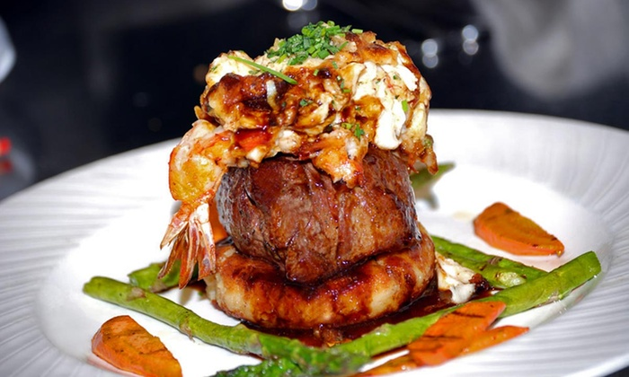 Park Plaza Gardens - Winter Park: $69 for a Three-Course American Dinner and Wine for Two ($124 Value)