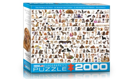 The World of Dogs 2,000-Piece Puzzle