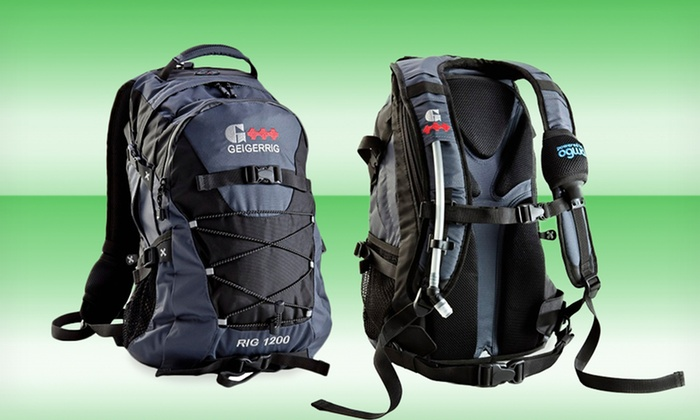 Geigerrig Rig 1200 Hydration Backpack : $84.99 for a Geigerrig Rig 1200 Hydration Backpack ($165 List Price). Free Shipping.
