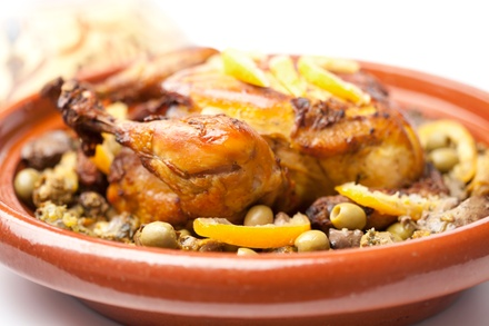 $59 for a Three-Course Moroccan Dinner for Two with Wine Pairings at Tagine ($124.90 Value)