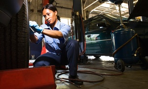 1 stop automotive: $39 for an Oil Change, a Tire Rotation, and a Coolant Drain and Fill at 1 Stop Automotive (Up to $129 Value)