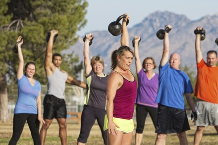 Up to 61% Off Personal Training at Camel City Personal Training