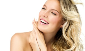 Maxim Beautique: Haircut with Optional Conditioning, Mani-Pedi, Partial Highlights, or Ombre Color at Maxim Beautique (Up to 76% Off)