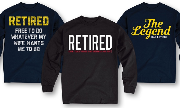 Men's Long-Sleeve Retired Tees