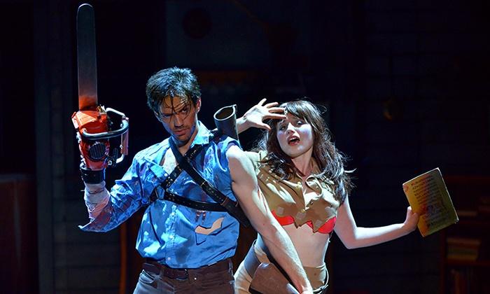 """Evil Dead The Musical - Victoria Theatre: """"Evil Dead The Musical"""" (November 7 at 4 p.m. and November 8 at 3 p.m.)"""