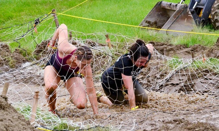 Regular Obstacle-Race Entry for One or Two or 10K Competitive-Heat Entry for One to MudManX (Up to 58% Off)