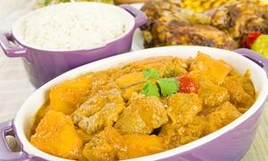 Teranga: Saveurs africaines avec entrée, plat et dessert au choix pour 2 personnes à 24,99 € au restaurant Teranga