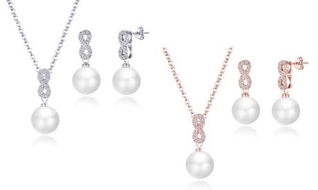 Set de joyería Philip Jones con elementos Swarovski®