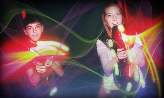 Laser Web Dayton - Centerville: $16 for Two Laser-Tag Games and One Laser-Maze Round for Two at Laser Web Dayton ($34 Value)